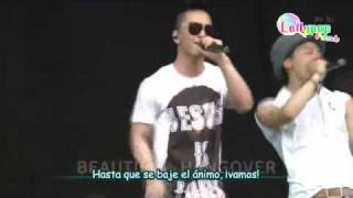 [Spanish Sub] Big Bang - Beautiful Hangover (Live)