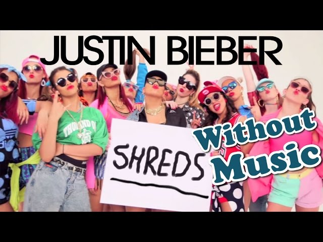 Justin Bieber Sorry Without Music Shreds