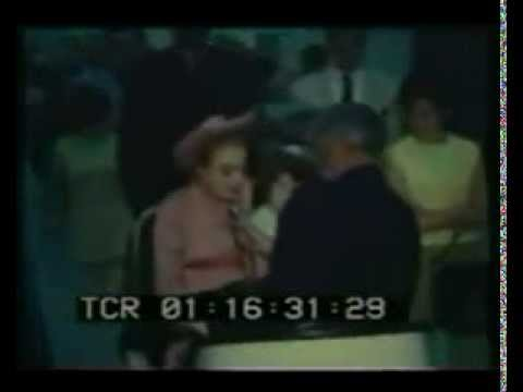 Joan Crawford Inebriated Airport Interview 1968