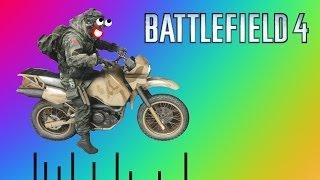 Battlefield 4 Приколы Онлайн - Летающий Мотоцикл, Любовь К ЗИНитке, Баги