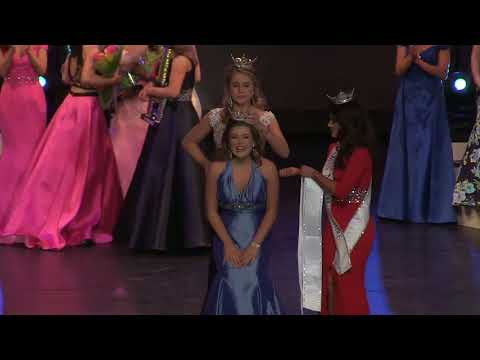 Morgane Vigroux is Crowned Miss NH's Outstanding Teen 2018