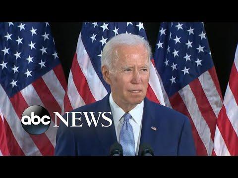 Biden Says Trump's Comments About Floyd Were 'despicable'