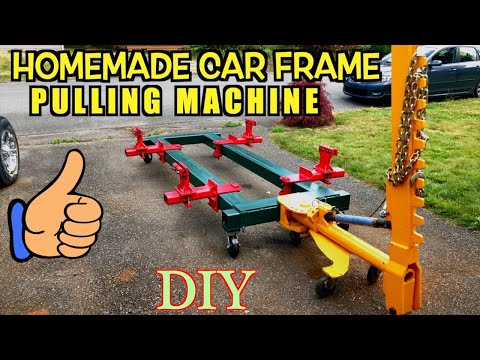Home Made Car Body Frame Machine, Frame Rack, Collision Repair Equipment, Universal DIY Jig
