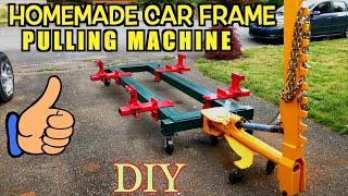 Home Made car body frame machine, Frame rack, Collision Repair Equipment, Universal DIY Jig