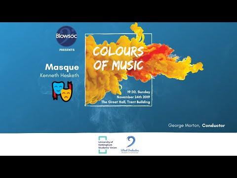 🎵 Wind Orchestra: 🎭 Masque – Kenneth Hesketh