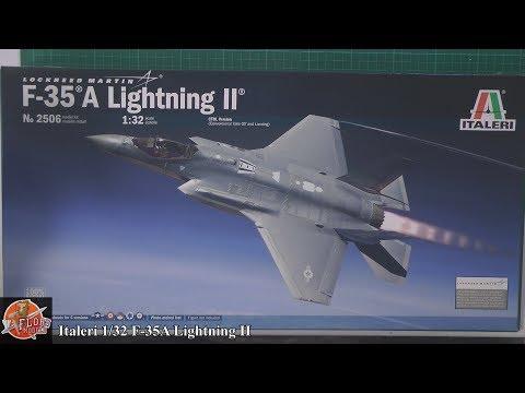 Italeri 1/32nd F-35A Lightning II review