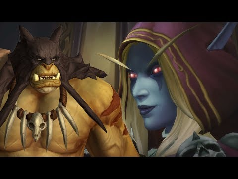 The Story Of The Horde War Campaign, Patch 8.1 Tides Of Vengeance