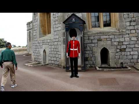 Windsor Castle Guard. UK 2011