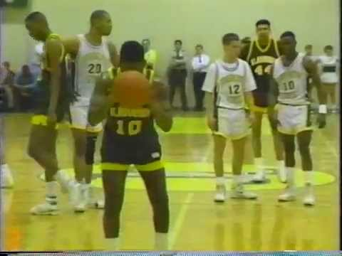 GREAT GOTHIC GAMES: 1990 MBasketball NJAC Semifinals JCSC vs