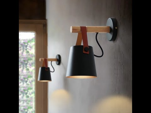 Wooden Wall Lamp Interior Light Fixture For Home Sconce Interior Lighting Living Room Nordic Modern