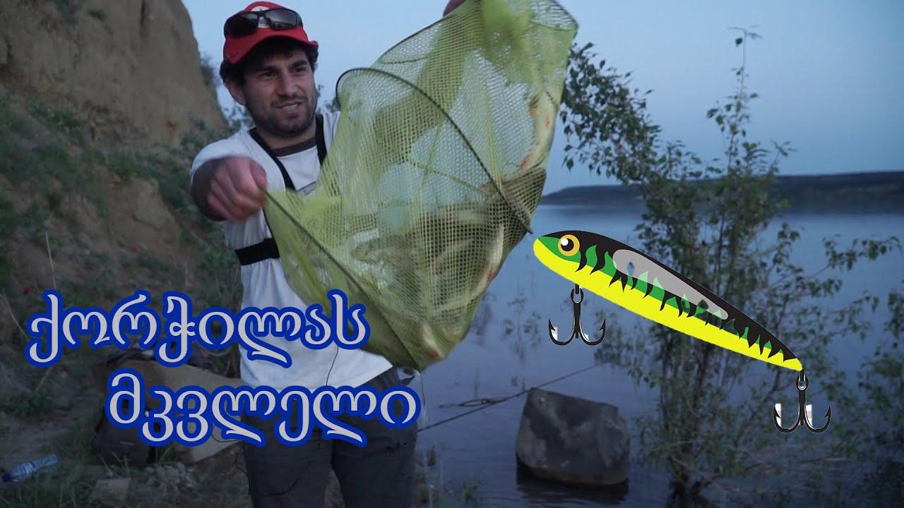 თევზაობა სპინინგით ქორჭილაზე და გემრიელობების მომზადება ОКУНЬ НА ДЖИГ
