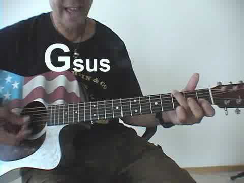 How To Play John Cougars Pink Houses Chords Youtube