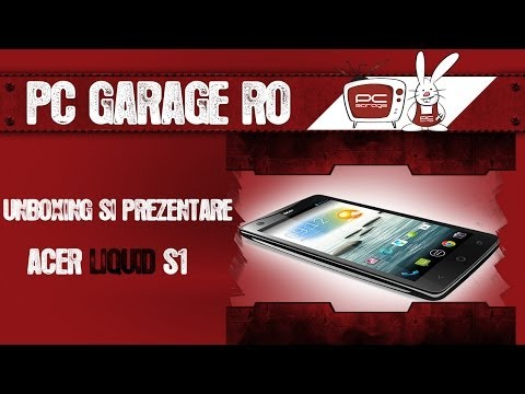 PC Garage - Video Review Smartphone Acer Liquid S1 Duo Black