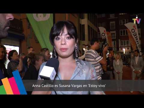 Alfombra naranja de 'Estoy vivo' TVE FesTVal Vitoria 2017