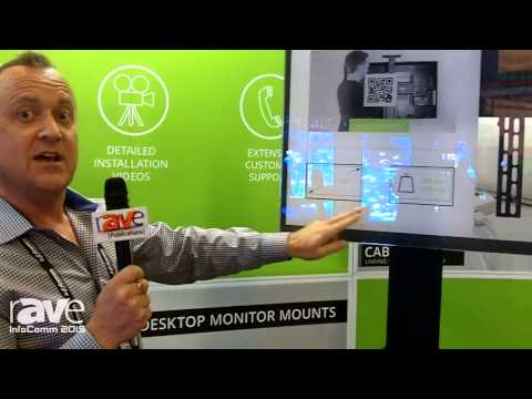 InfoComm 2015: Kanto Discusses the MTMA100PL Mobile Flat Panel TV Mounts