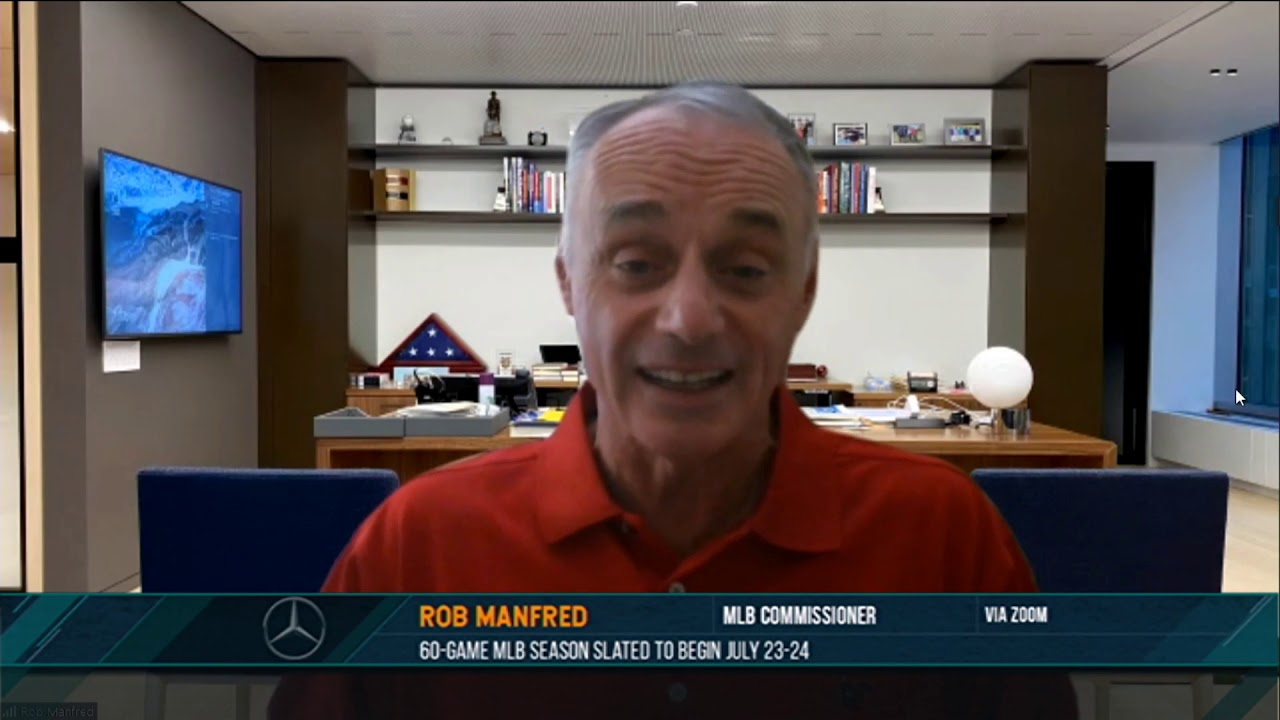 Rob Manfred on the Dan Patrick Show (Full Interview) 07/01/20