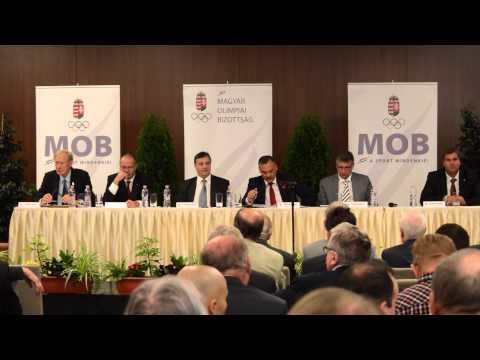 Magyar Olimpiai Bizottság -  Közgyűlés - 2015. május 12.