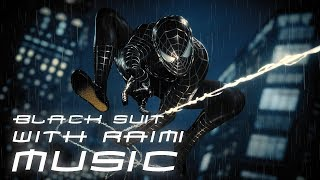 Spider-Man (PS4) Black Raimi Suit & Music