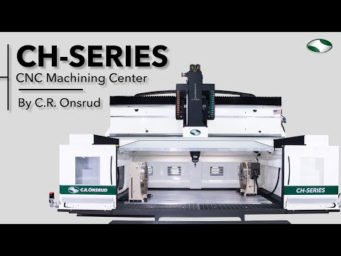 5-Axis CNC Milling Center by C.R. Onsrud | CH-Series