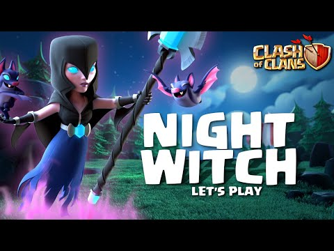 NIGHT WITCH!  BECAUSE, WHY NOT!?  Journey to Geared Up Multi Mortar BH7 | Clash of Clans