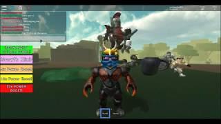 Convirtiéndome en un Titan(Roblox-Titan Simulator)