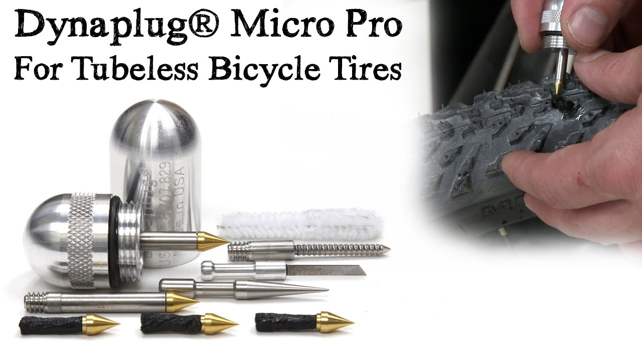 Dynaplug® Micro Pro Tubeless Bicycle Tire Repair Tool ...