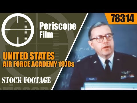 UNITED STATES AIR FORCE ACADEMY 1970s RECRUITING FILM 78314