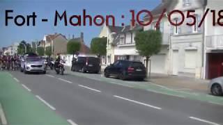 4jours Dunkerque 10/05/ 2018 : FortMahon -Ecques , 3ème étape .