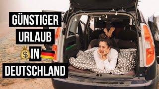 SO reist man GÜNSTIG duŗch DEUTSCHLAND ∙ Schlafen im Auto ∙ Reisetipps ∙ #Vlog 152