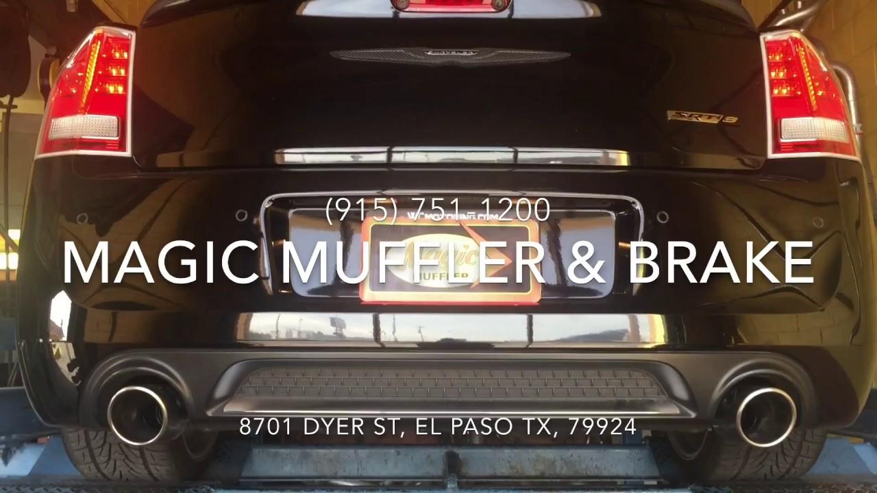 2012 Chrysler 300 Srt8 W Dual Magnaflow Muffler Youtube