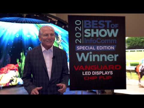 Vanguard LED Displays' ChipFlip Wins Best of Show Award, Presented by AV Technology