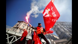 France set for further transport chaos on sixth day of pension strikes