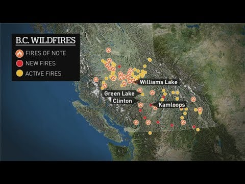 B.C. wildfires prompt new evacuation orders | 'We're going to stay until it gets really close'