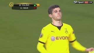Christian Pulisic vs. Tottenham Hotspur (Away) 17 03 2016