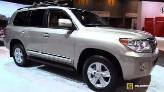 2015 Toyota Land Cruiser - Exterior and Interior Walkaround - 2015 Chicago Auto Show