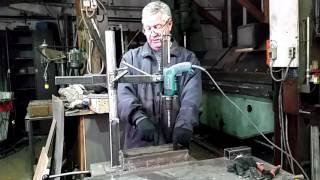 Вертикальный радиальный сверлильный станок своими руками Ч.5 Финал