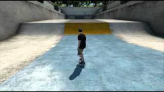 Skate 3 - coffin backflip trick