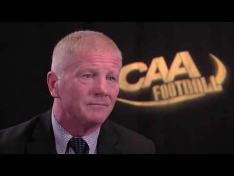 UNH Football: Coach McDonnell talks QBs, Defense at CAA Media Day Mp3