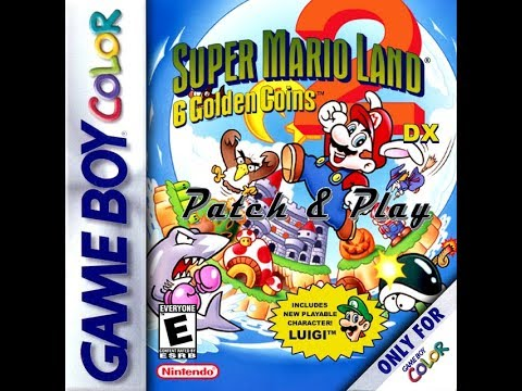 Super mario land 2 dx patched rom download | pixel glitch.