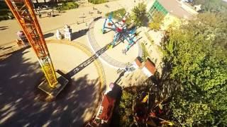 Вид от первого лица с GoPro: аттракцион в Парке Горького, Харьков(Как выглядит аттракцион Арабика в Парке Горького (Харьков) от первого лица. Видео снято на GoPro Hero 4 Music