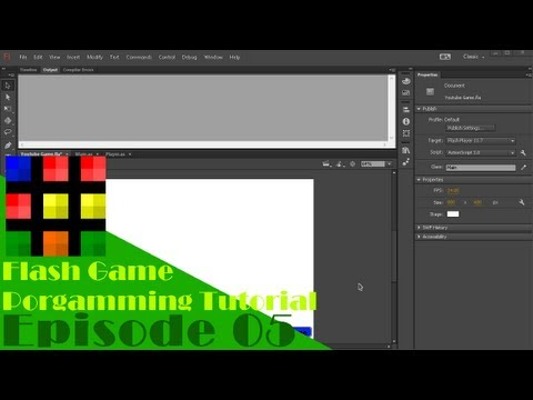 Flash Game Programming Tutorial - Episode 5: Adding Key Controls!