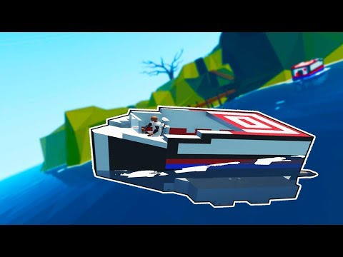 HOW TO BUILD A BOAT & TRANSPORTING CRATES! - Stormworks Gameplay - Stormworks Build and Rescue