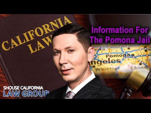 Pomona Jail Information (Location, bail, visiting hours)