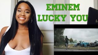 Eminem - Lucky You ft. Joyner Lucas REACTION