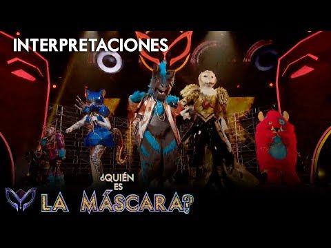 ¡Las celebridades encienden el escenario a ritmo de reggaeton!   ¿Quién es la Máscara?