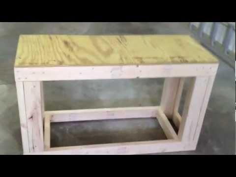 How To: Build A 75/90 Gallon Aquarium Stand