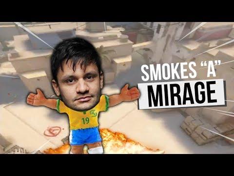 "PRO'FER'SSOR - SMOKES ""A"" MIRAGE"