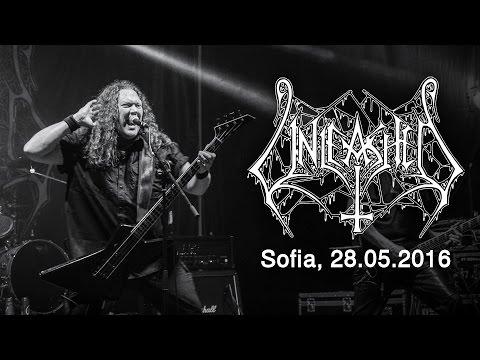 UNLEASHED - Live in Sofia / Bulgaria, 28.05.2016