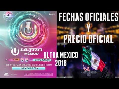 Ultra México 2018 | PRECIOS Y FECHAS | ULTRA MUSIC FESTIVAL MEXICO