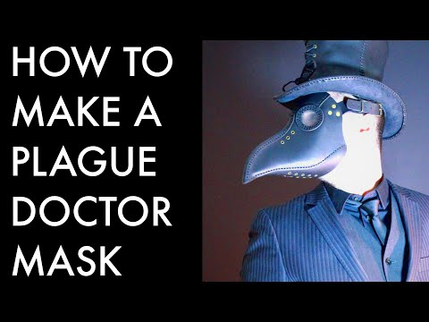 Plague Doctor Mask Tutorial Youtube